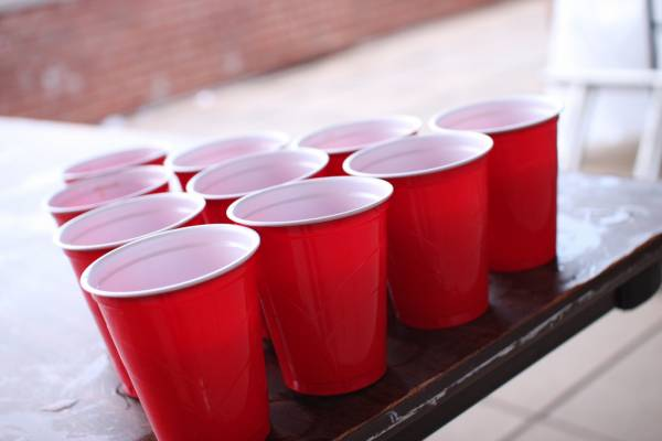 Amerikaanse red cups