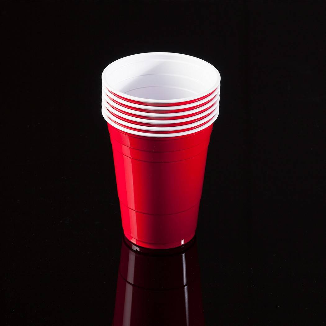 Goedkope red cups rood