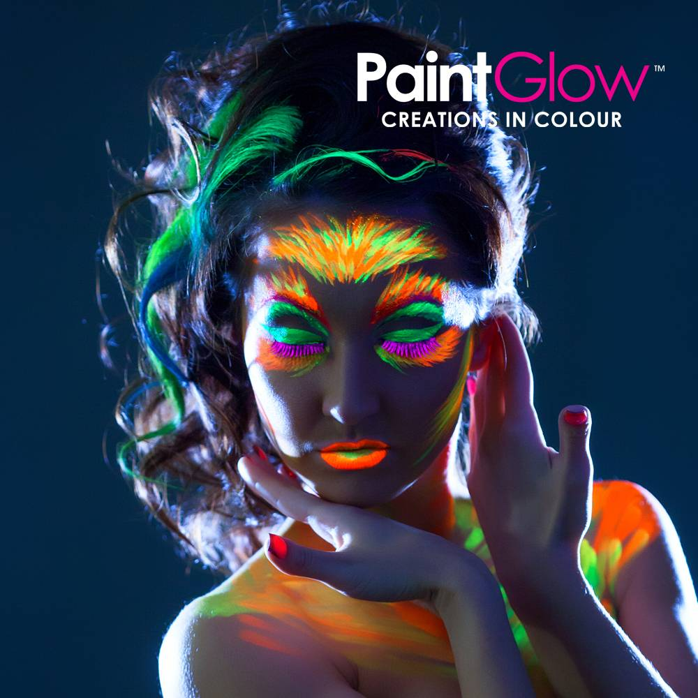 Glow in the dark make-up uv Neon verf