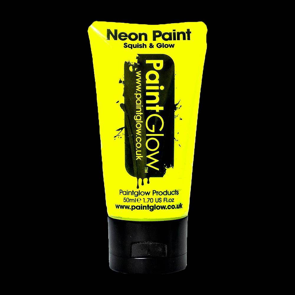 glow in the dark paint full moon party