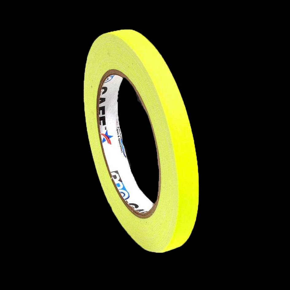 gele fluor glow in the dark tape