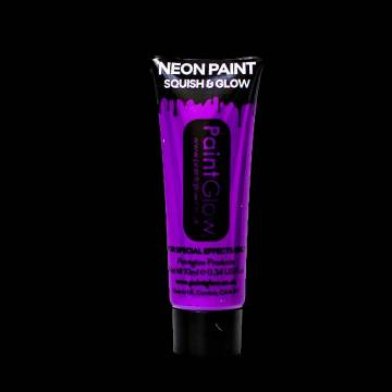 neon glow in the dark bodypaint