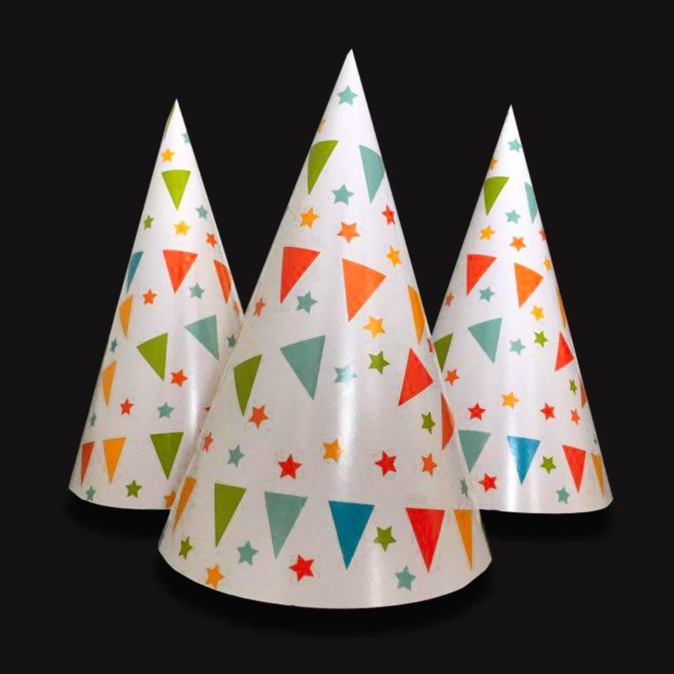 Feesthoedjes van papier - Feestartikelen en partygadgets