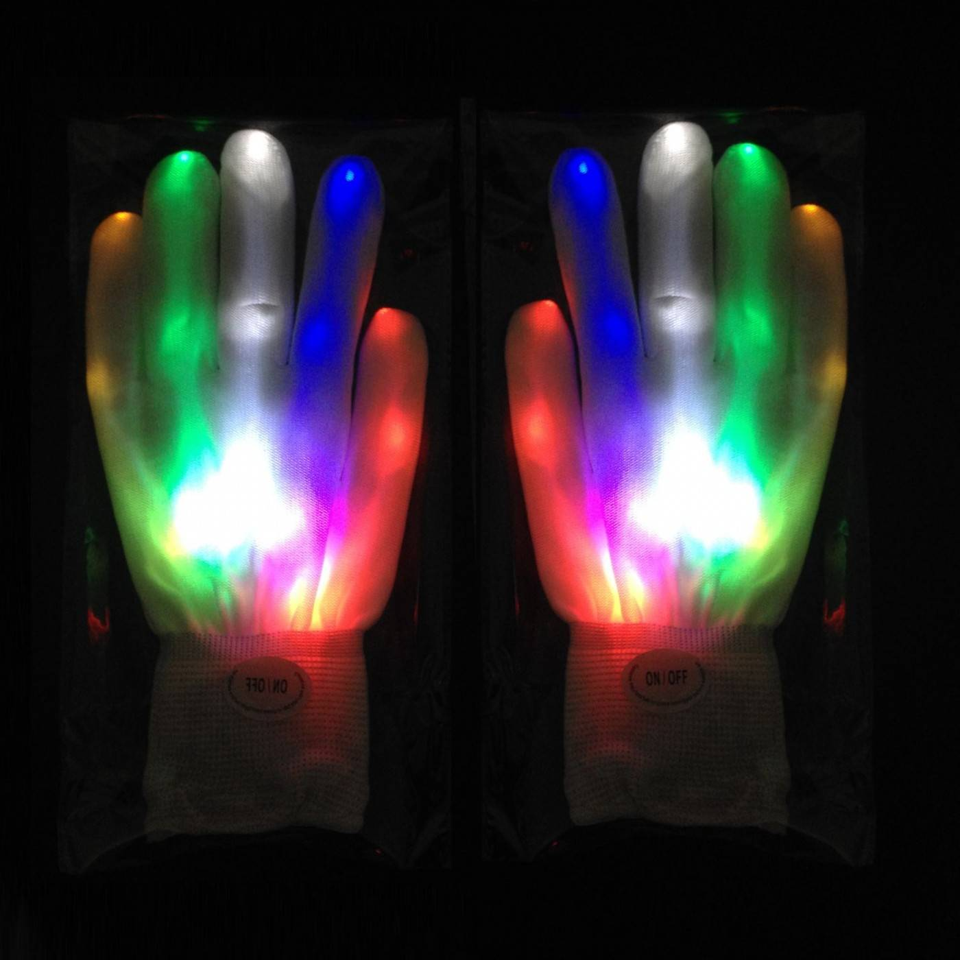 Led Handschoenen 1 Paar Feestartikelen En Partygadgets