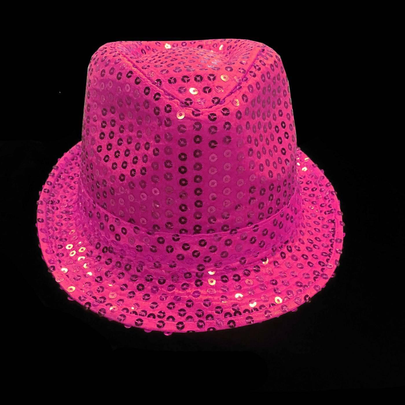 Roze feesthoedje met pailletten feestdagen thema feesten - Hoe roze verf ...